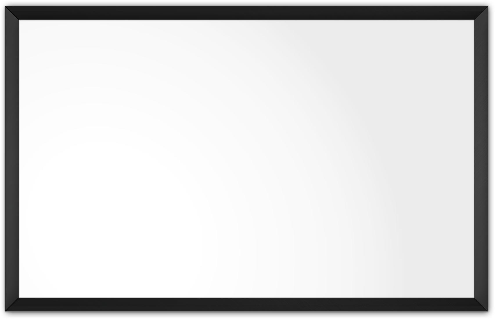 comfortSoft1500 ir. verw.paneel, 750W, 1250 x 790 mm, lelie wit, lijst mat zwart, softline