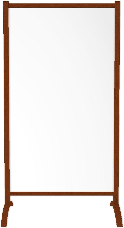 emotion1000 ir. verw.paneel, 500W, 650 x 1180 mm, lelie wit, lijst notenhout gelakt