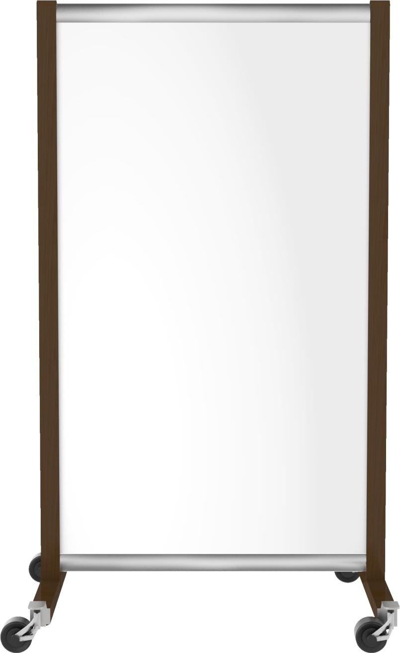 emotion1000 de Luxe ir. verw.paneel, 500W, 650 x 1180 mm, lelie wit, lijst edelmetaal/wengé