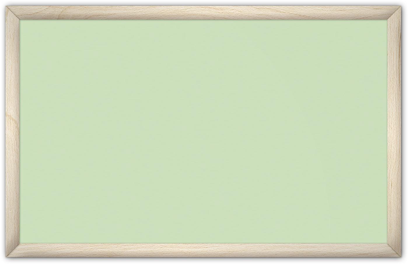 comfortSoft1000 ir. verw.paneel, 500W, 1020 x 650 mm, crème groen, lijst esdoornhout gelakt