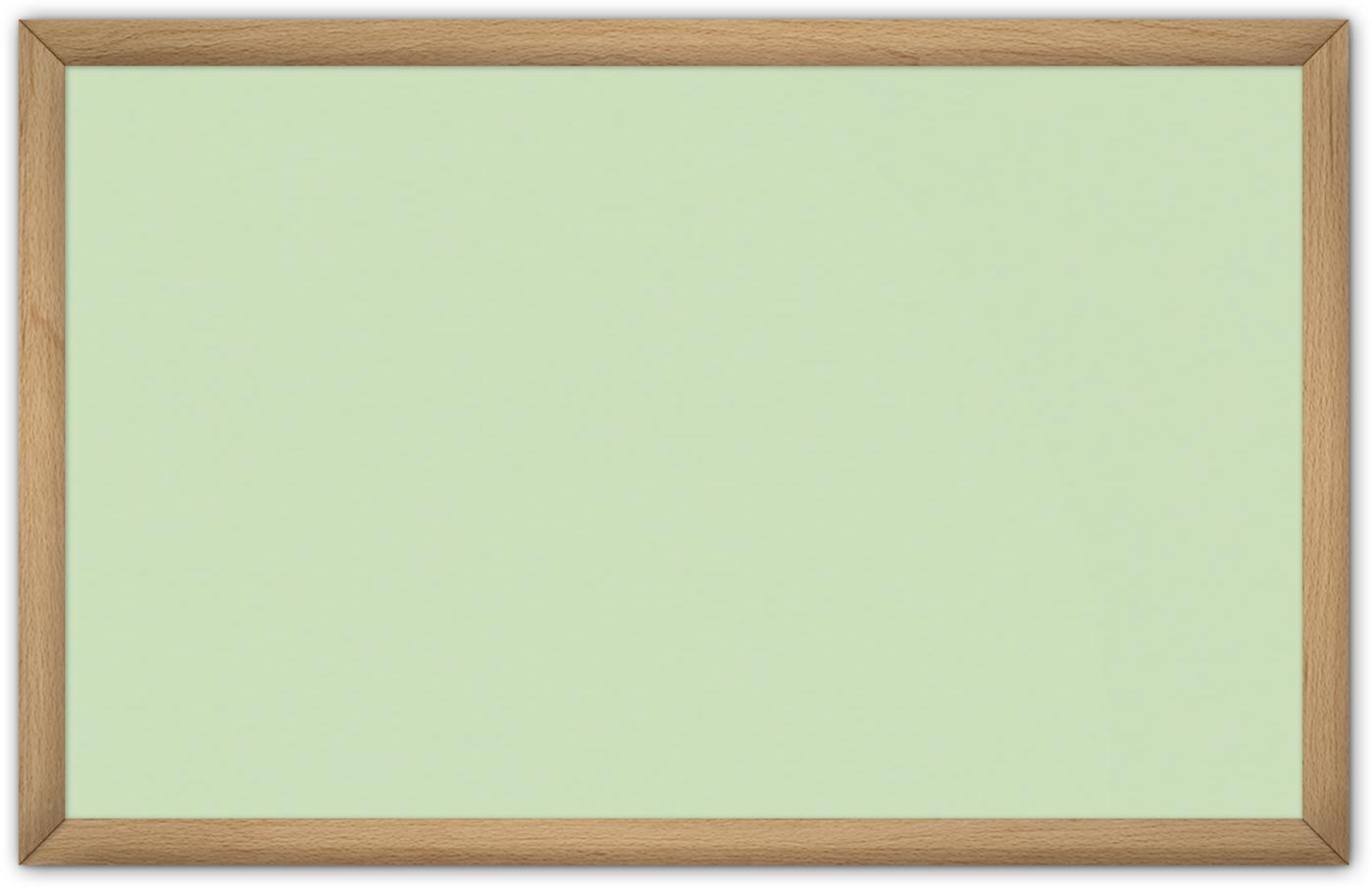 comfortSoft1000 ir. verw.paneel, 500W, 1020 x 650 mm, crème groen, lijst beukenhout gelakt
