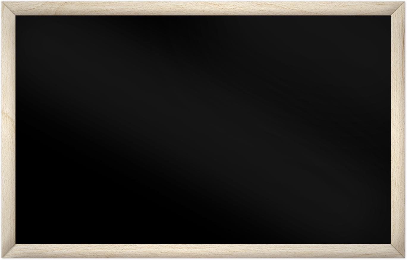 comfortSoft1000 ir. verw.paneel, 500W, 1020 x 650 mm, gitzwart, lijst esdoornhout gelakt