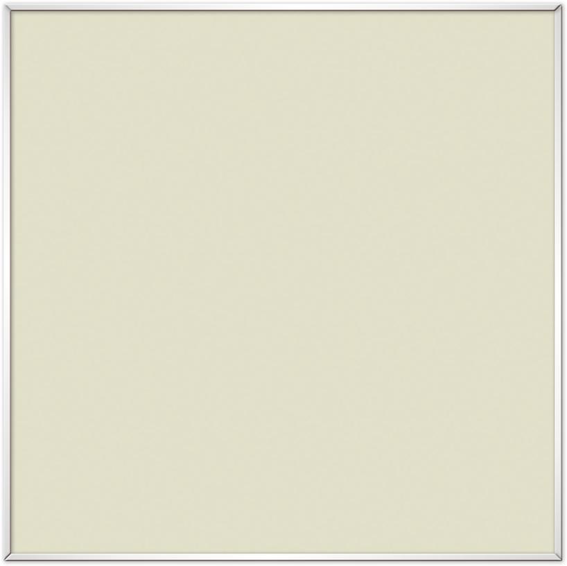 comfortSoft500 ir. verw.paneel, 250W, 615 x 615 mm, licht ivoor, lijst mat zilver, U-Line elegance, uitsluitend voor Systemdecke 625x625mm