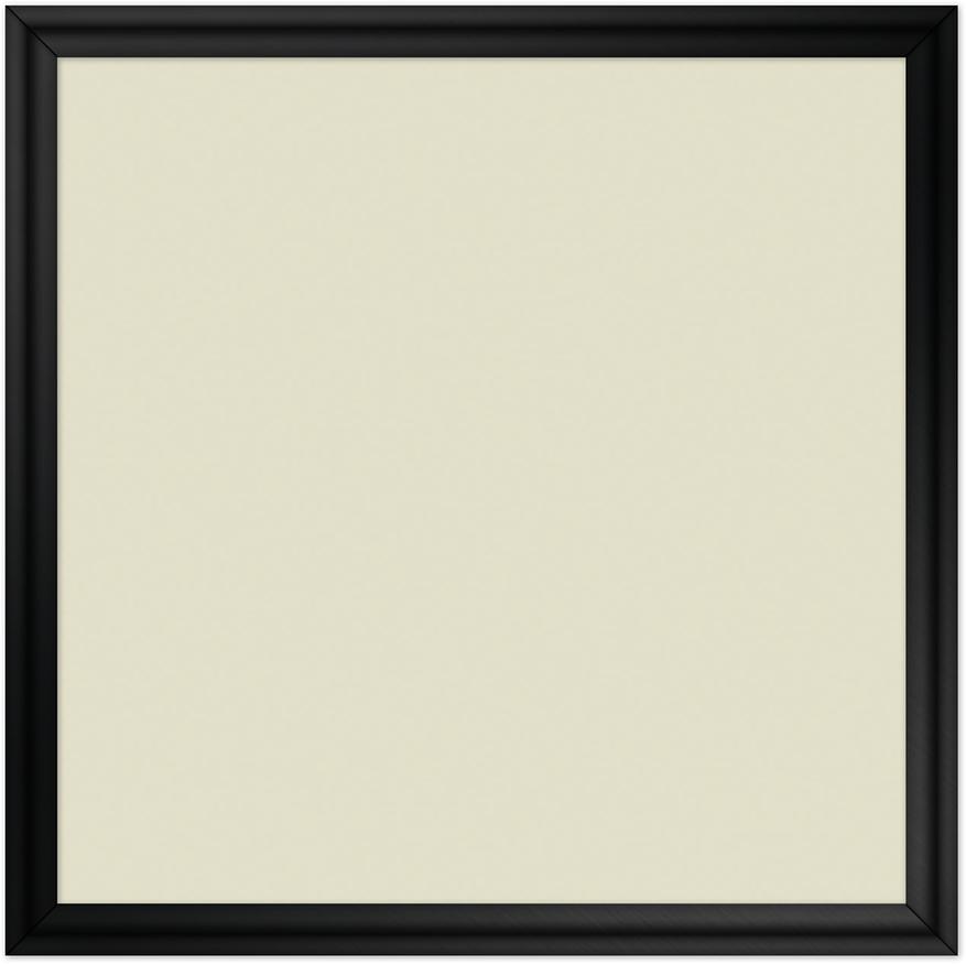 comfortSoft500 ir. verw.paneel, 250W, 650 x 650 mm, licht ivoor, lijst hoogglans zwart, softline