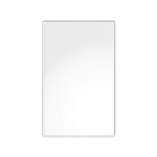 comfort1350 ir. verw.paneel, 675W, 976 x 606 mm, lelie wit, lijst lelie wit, U-Line elegance, uitsluitend voor easyPlan vertikaal