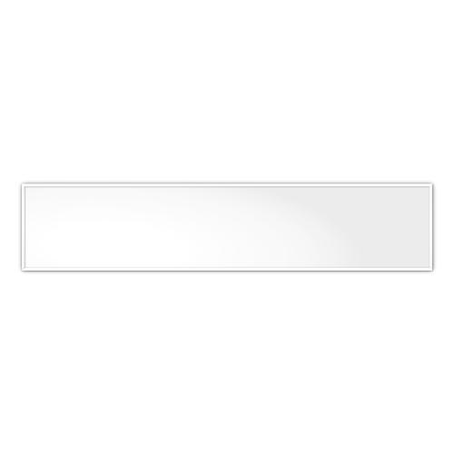 easyTherm comfortSoft701 ir. verw.paneel, 350W, 1206 x 256 mm, lelie wit, lijst lelie wit, U-Line elegance,