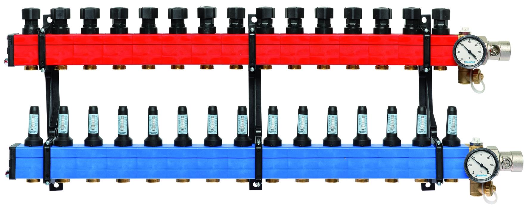 Komfort verdeler type 4010 10 tot 145 l/u., 15-gr.