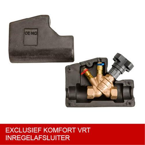 Komfort isolatieschaal voor VTR DN20