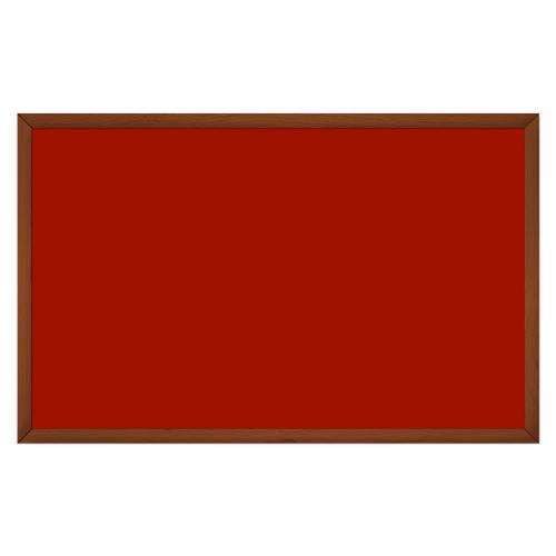comfort2000 ir. verw.paneel, 1025W, 1250 x 790 mm, mohnrot rood, lijst kersenhout in olie