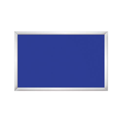 comfort1350 ir. verw.paneel, 675W, 1020 x 650 mm, gentiaanblauw, lijst mat zilver, softline