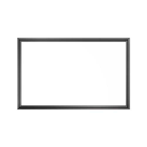 comfort1350 ir. verw.paneel, 675W, 1020 x 650 mm, lelie mat wit, lijst hoogglans platina, softline