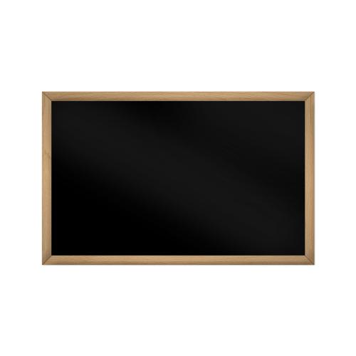 comfort1350 ir. verw.paneel, 675W, 1020 x 650 mm, gitzwart, lijst beukenhout gelakt