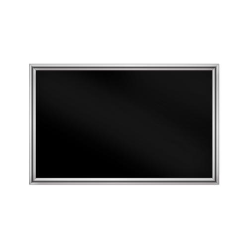 comfort1350 ir. verw.paneel, 675W, 1020 x 650 mm, gitzwart, lijst chroom, softline
