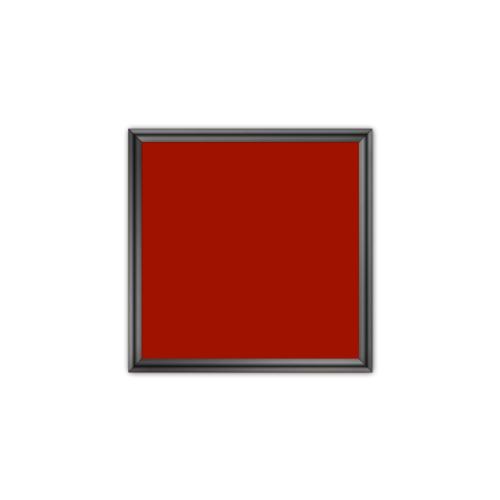comfort700 ir. verw.paneel, 350W, 650 x 650 mm, mohnrot rood, lijst hoogglans platina, softline
