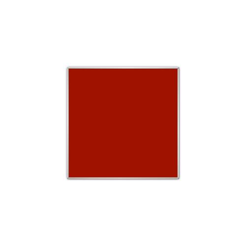 comfort700 ir. verw.paneel, 350W, 606 x 606 mm, mohnrot rood, lijst mat zilver, U-Line elegance,