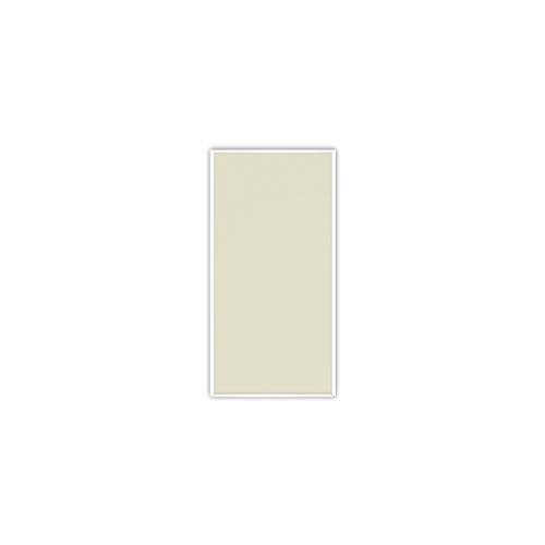 comfortSoft250 ir. verw.paneel, 125W, 306 x 606 mm, licht ivoor, lijst lelie wit, U-Line elegance, uitsluitend voor easyPlan vertikaal