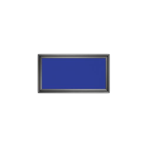 comfort350 ir. verw.paneel, 175W, 350 x 650 mm, gentiaanblauw, lijst hoogglans platina, softline