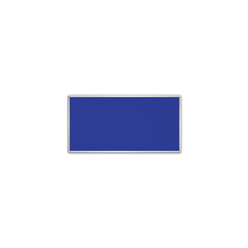 comfort350 ir. verw.paneel, 175W, 306 x 606 mm, gentiaanblauw, lijst mat zilver, U-Line elegance,