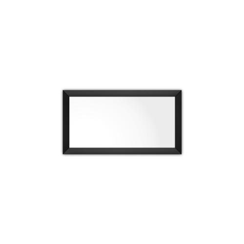 comfort350 ir. verw.paneel, 175W, 350 x 650 mm, lelie wit, lijst mat zwart, softline