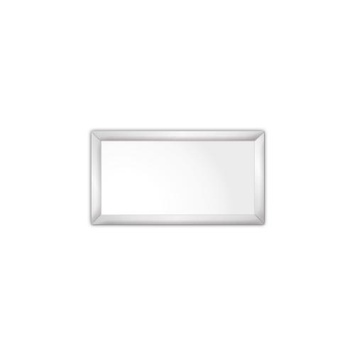 comfort350 ir. verw.paneel, 175W, 350 x 650 mm, lelie wit, lijst mat zilver, softline