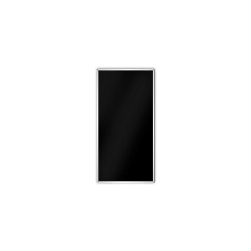 comfort350 ir. verw.paneel, 175W, 306 x 606 mm, gitzwart, lijst mat zilver, U-Line elegance, uitsluitend voor easyPlan vertikaal