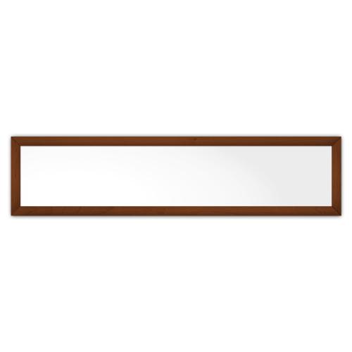 comfortSoft501 ir. verw.paneel, 250W, 1250 x 300 mm, lelie wit, lijst notenhout gelakt