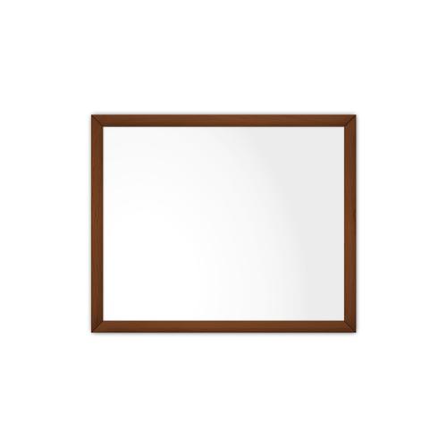 comfortSoft750 ir. verw.paneel, 375W, 790 x 650 mm, lelie wit, lijst kersenhout gelakt