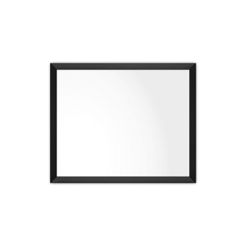 comfortSoft750 ir. verw.paneel, 375W, 790 x 650 mm, lelie wit, lijst mat zwart, softline