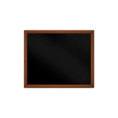 comfort1030 ir. verw.paneel, 515W, 790 x 650 mm, gitzwart, lijst kersenhout in olie