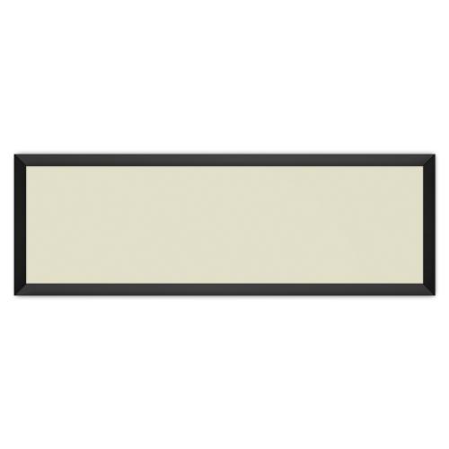 comfort1031 ir. verw.paneel, 515W, 1250 x 420 mm, licht ivoor, lijst mat zwart, softline