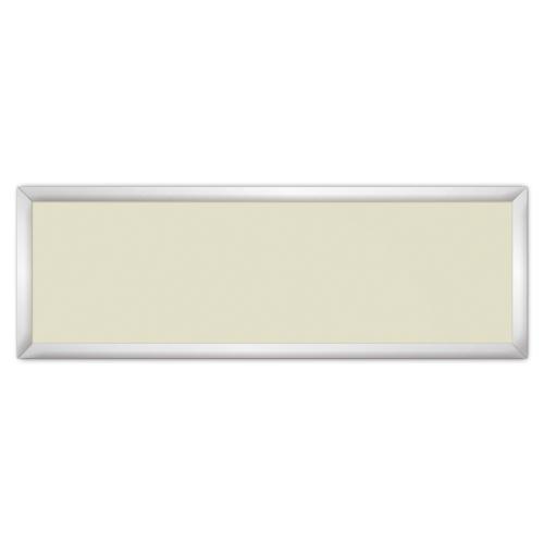 comfort1031 ir. verw.paneel, 515W, 1250 x 420 mm, licht ivoor, lijst mat zilver, softline