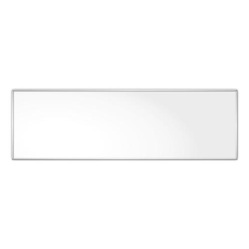 comfort1031 ir. verw.paneel, 515W, 1206 x 376 mm, lelie wit, lijst mat zilver, U-Line elegance, uitsluitend voor easyPlan horizontaal