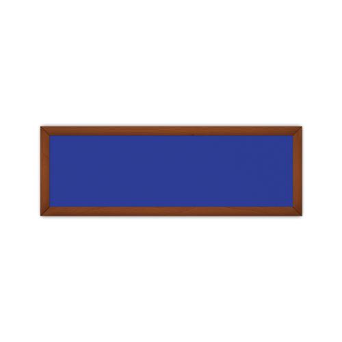 comfort651 ir. verw.paneel, 350W, 1020 x 350 mm, gentiaanblauw, lijst kersenhout in olie