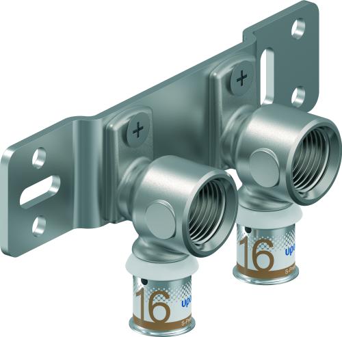 Uponor Smart Radi montageplaat S-Press PLUS, 16-RP1/2